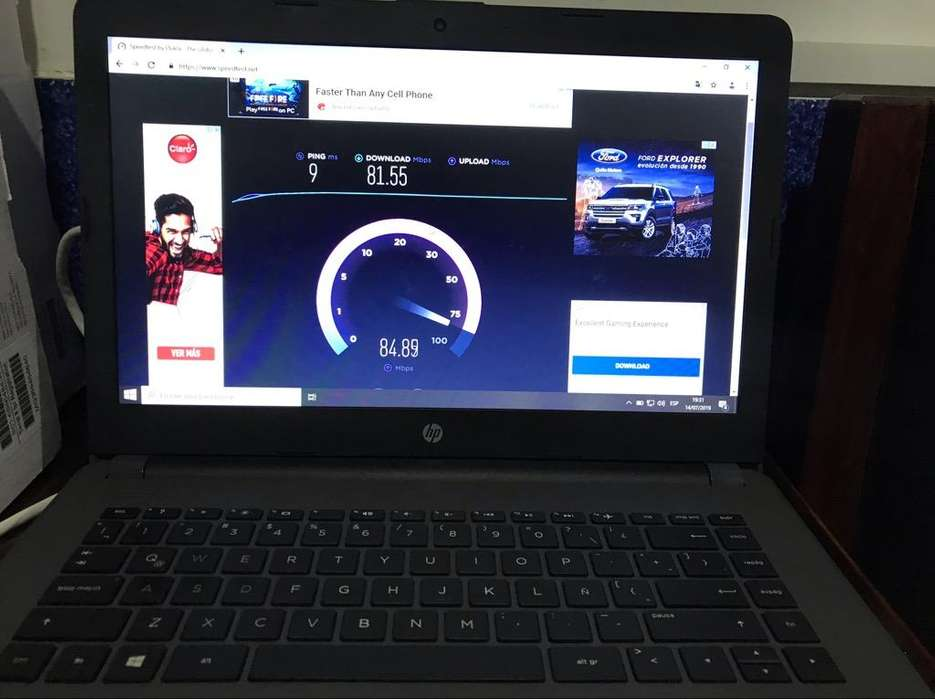 Lapto Hp 240 G6 de 500Gb