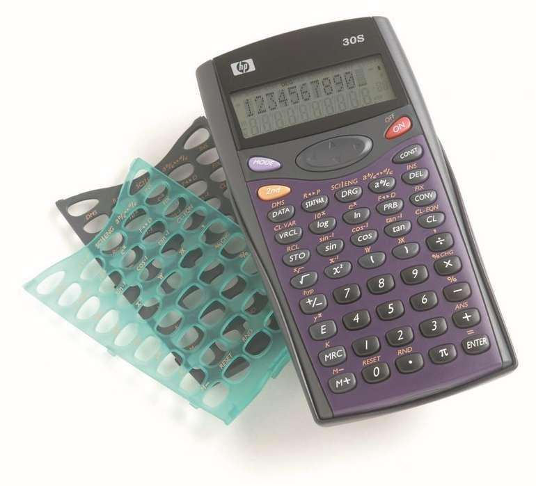 <strong>calculadora</strong> Cientifica Hp 30s