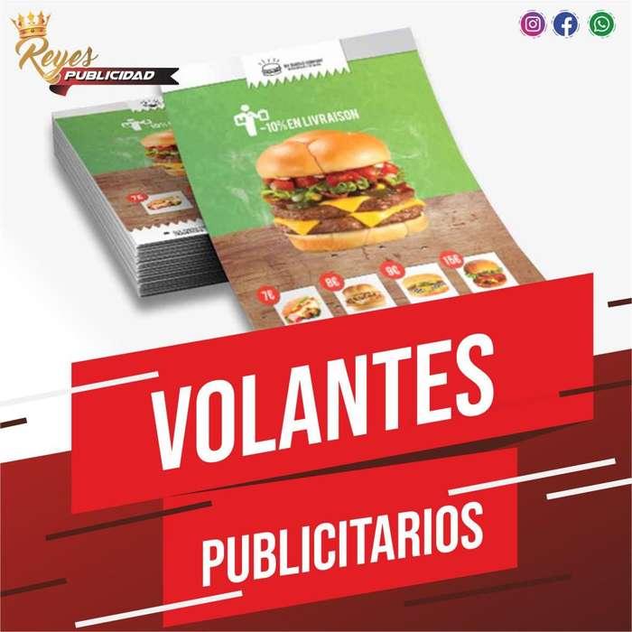 VOLANTES PUBLICITARIOS IMPRESIONES LITOGRAFIA PAPELERIA COMERCIAL BOND PROPALCOTE FULL COLRO UNA TINTA PUBLICIDAD CALI