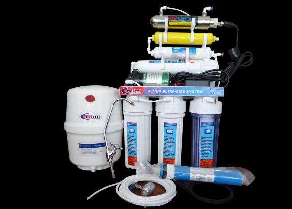 Purificador de agua con ósmosis inversa 7 etapas