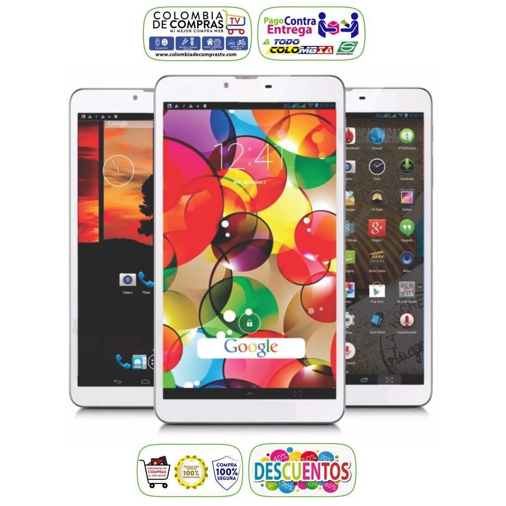Tablet 3G Lte 7031, 1gb Ram, 8gb, 2 Cámaras,Dual Sim, Nuevos, Originales, Garantizados