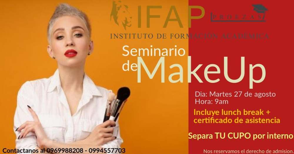 Seminario de Maquillaje Profesional