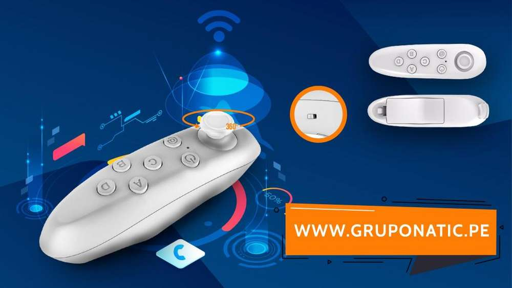 Control Bluetooth Gamepad Vr Box Android iphone Gruponatic San Miguel Surquillo Independencia La Molina 941439370