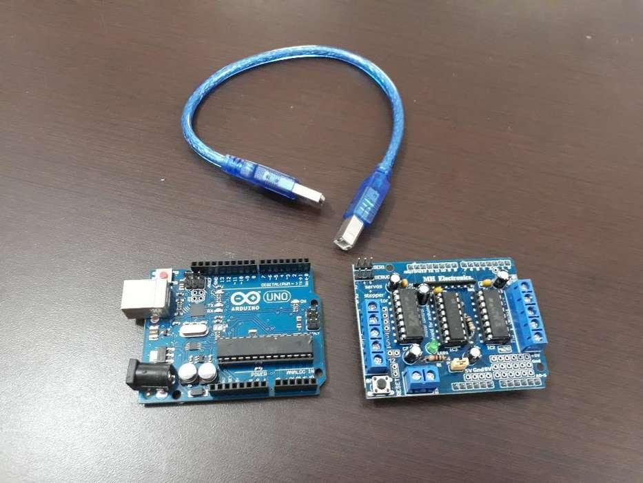Placa Arduino Uno Controlador de Motor