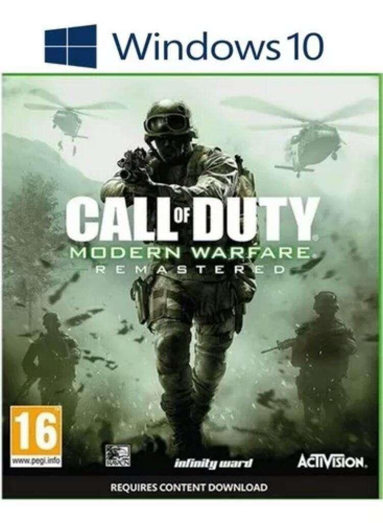 Call Of Duty Remasterd