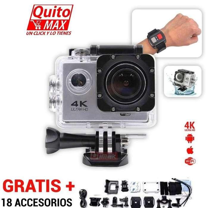 Camara de acción 4K UltraHD tipo GOPRO/ WIFI / Marca OEM Original