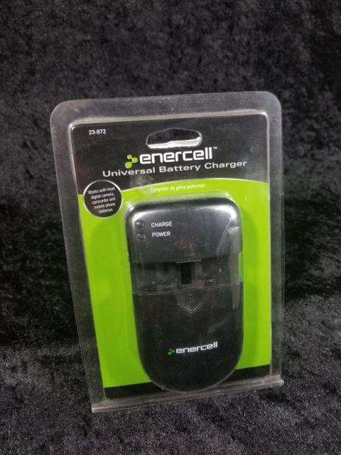 Cargador De Baterias Y Pilas Recargables Enercell 23972