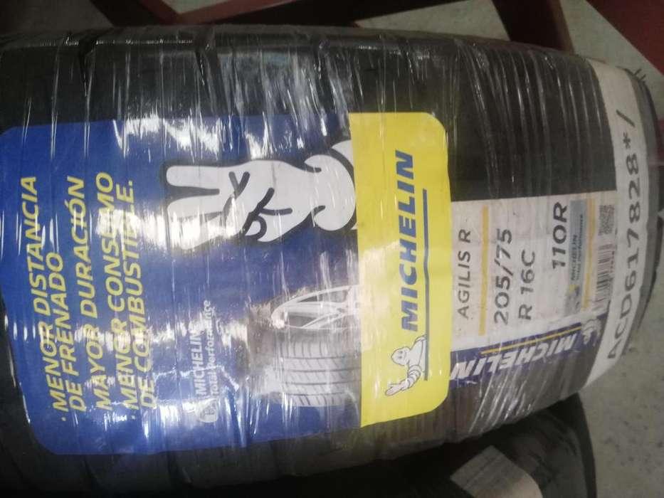 Llanta Michelin Agilis R 205 75 R16c