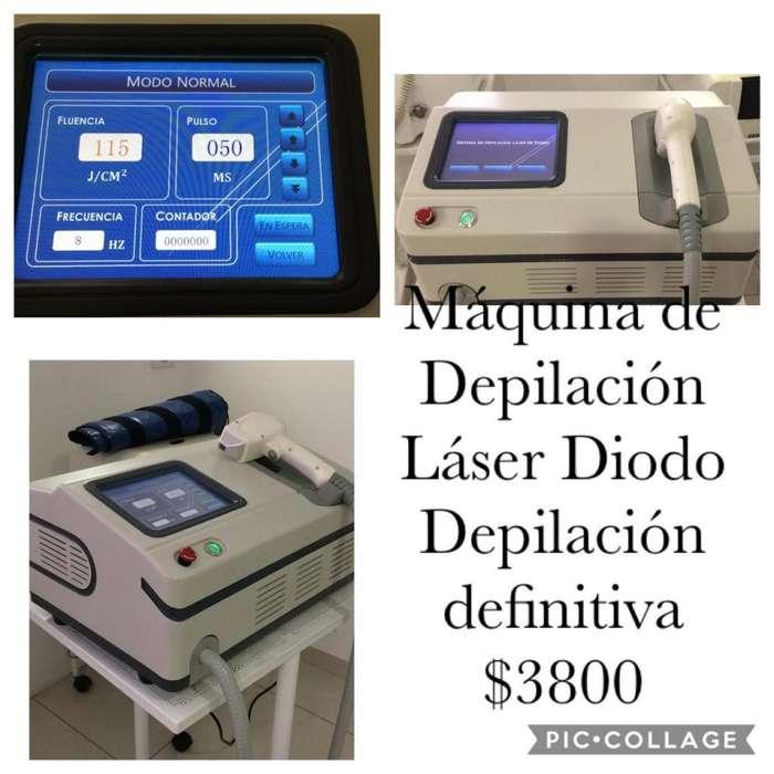Maquina de depilacion Laser Diodo Depilacion definitiva 3800