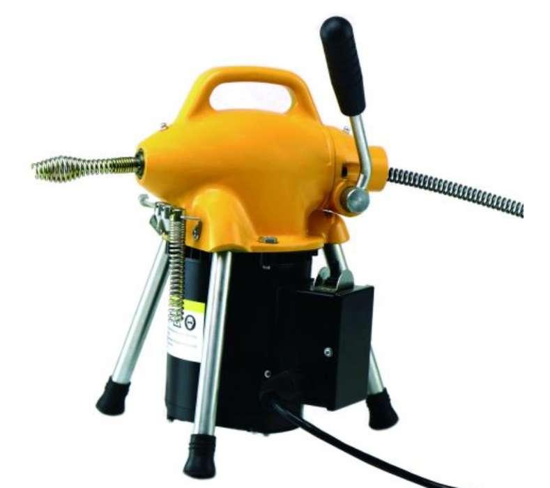 Desatorador electrico A75 para tuberias de desague hasta 4