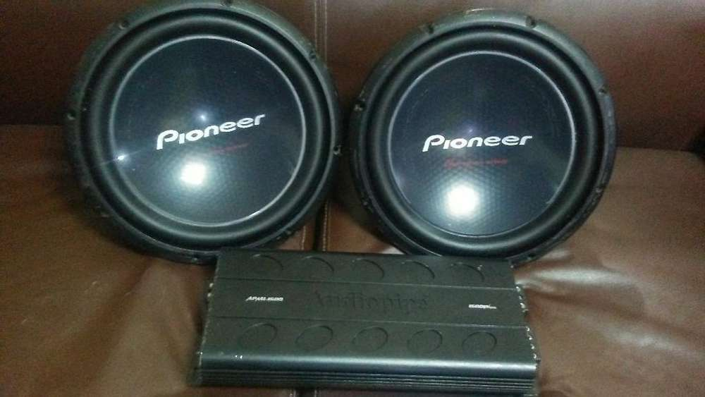 Vendo Planta Y Dos Vajos Pioneer 12