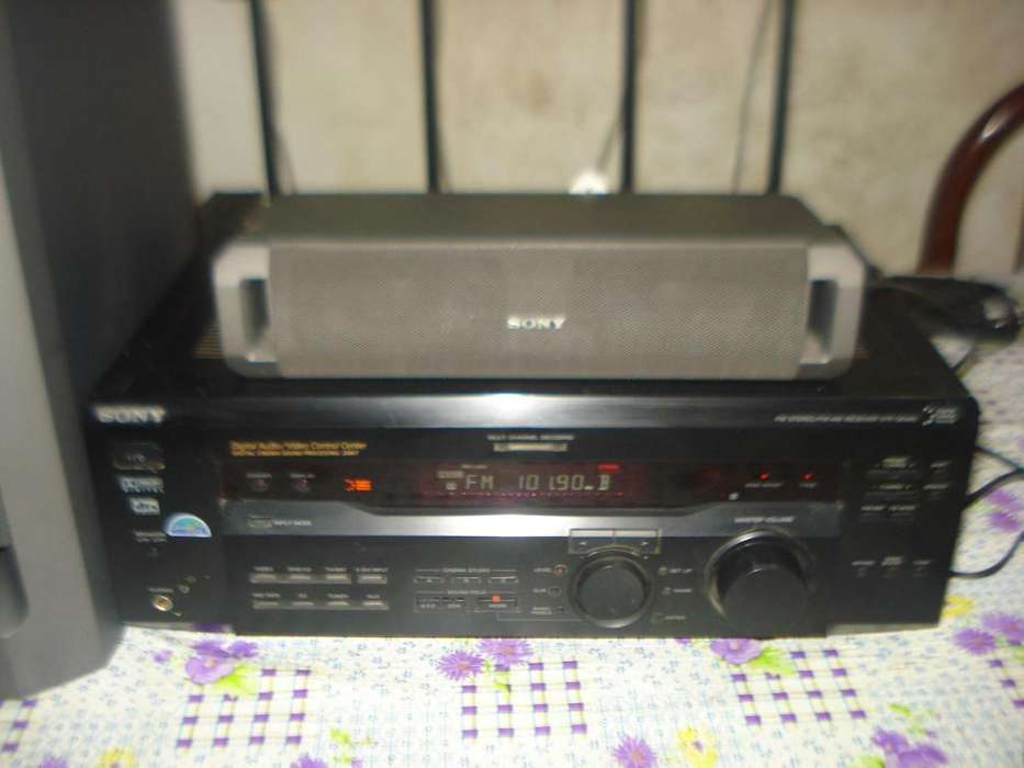 Home Theater Sony Str De445 C/parlantes Funciona Perfecto