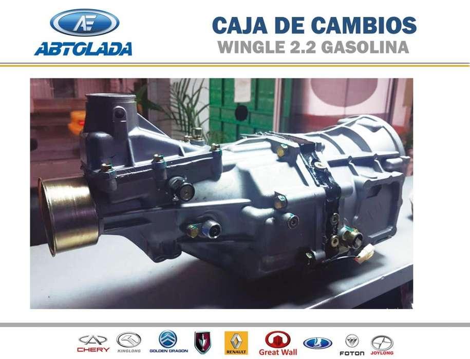 CAJA DE CAMBIOS WINGLE 2.2cc GASOLINA