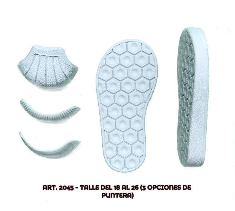 Suelas para calzado de dama y niños. MARINO BASES (Fabrica).