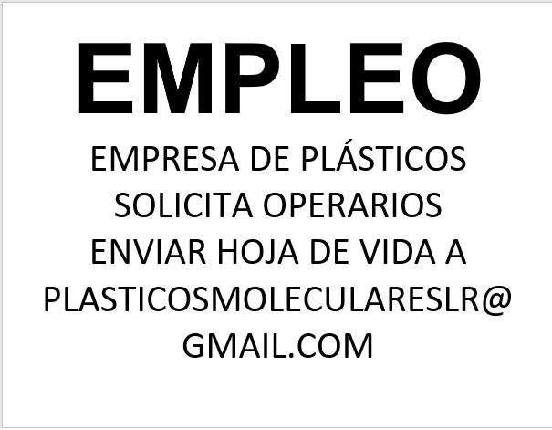EMPLEO OPERARIO