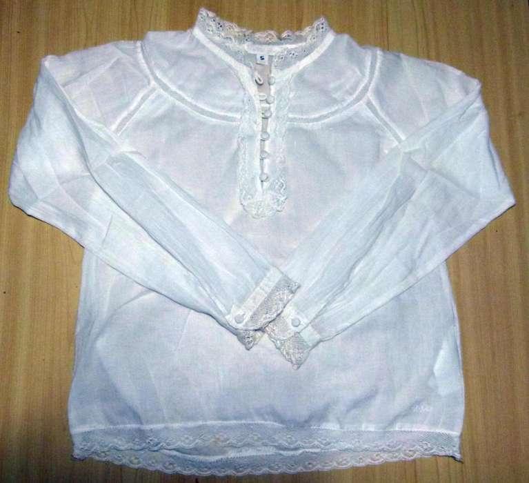 Camisa Remera Cheeky Blanca Talle 12 La Plata