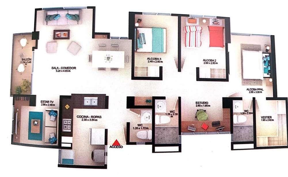 Vendo Apartamento quintas Don Simon Cali