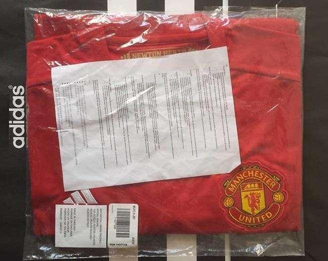 Camiseta Manchester United Adidas Original