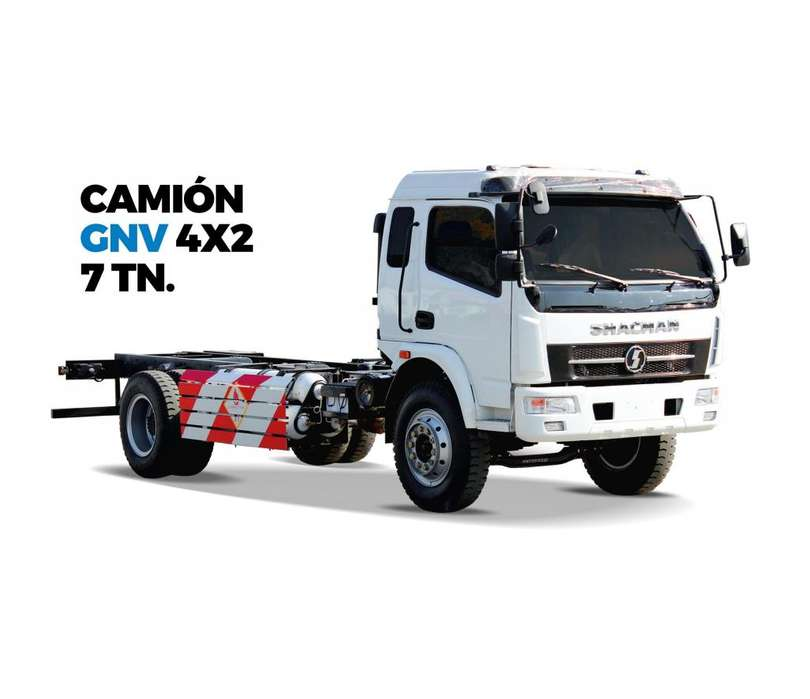 CAMION SHACMAN GNV 4X2 - 7 TN 2018