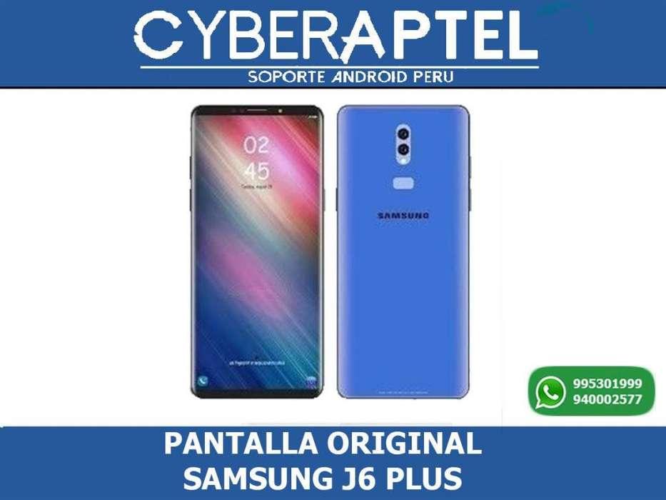 PANTALLA ORIGINAL SAMSUNG J6 plus INSTALACION GRATIS