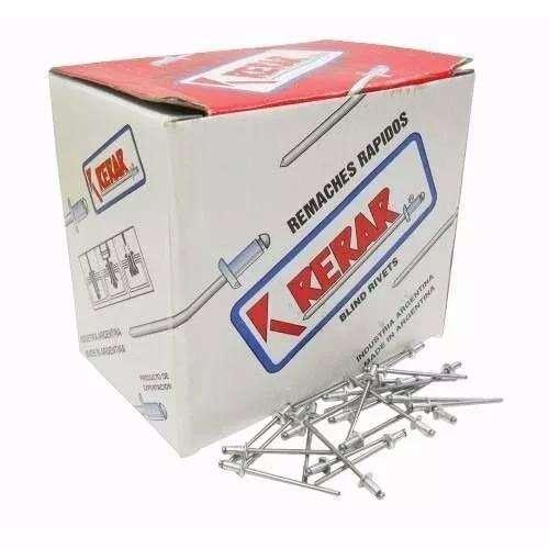 Caja Remache Ala Ancha 4.8 X 16 X 500 Rerar