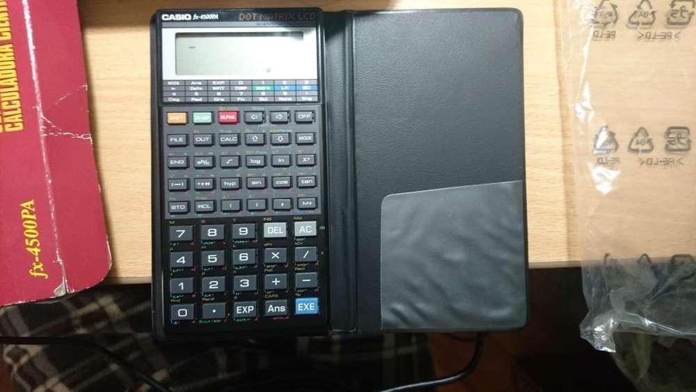 <strong>calculadora</strong> Casio Fx 4500pa