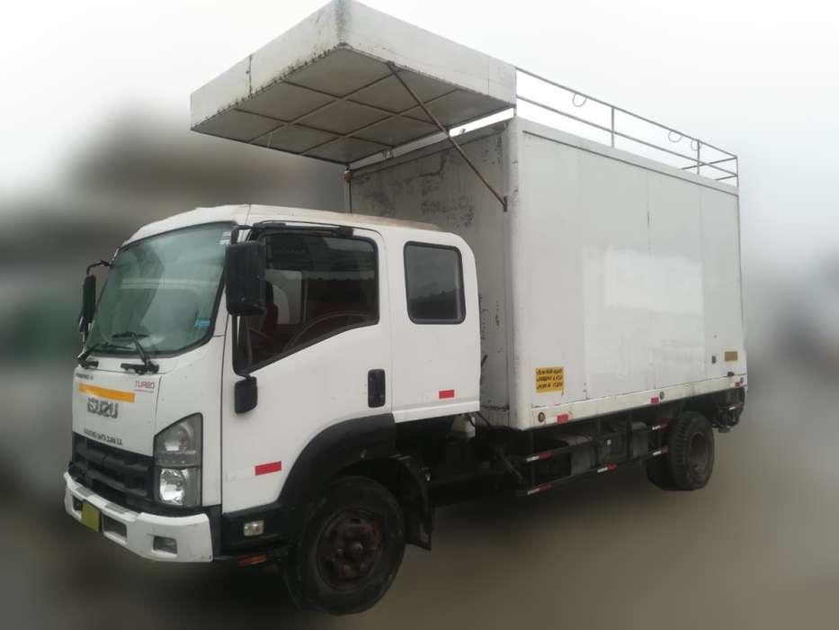 Camión furgon Isuzu Reward 500 Año 2014