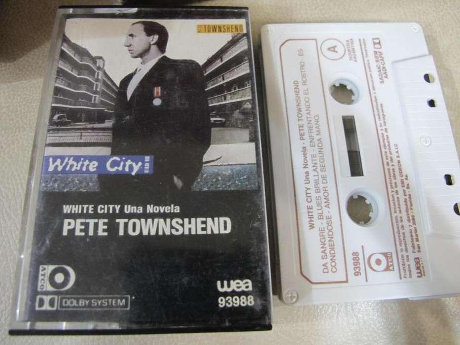 Pete Townshend - White City (A Novel) - Cassette ARG