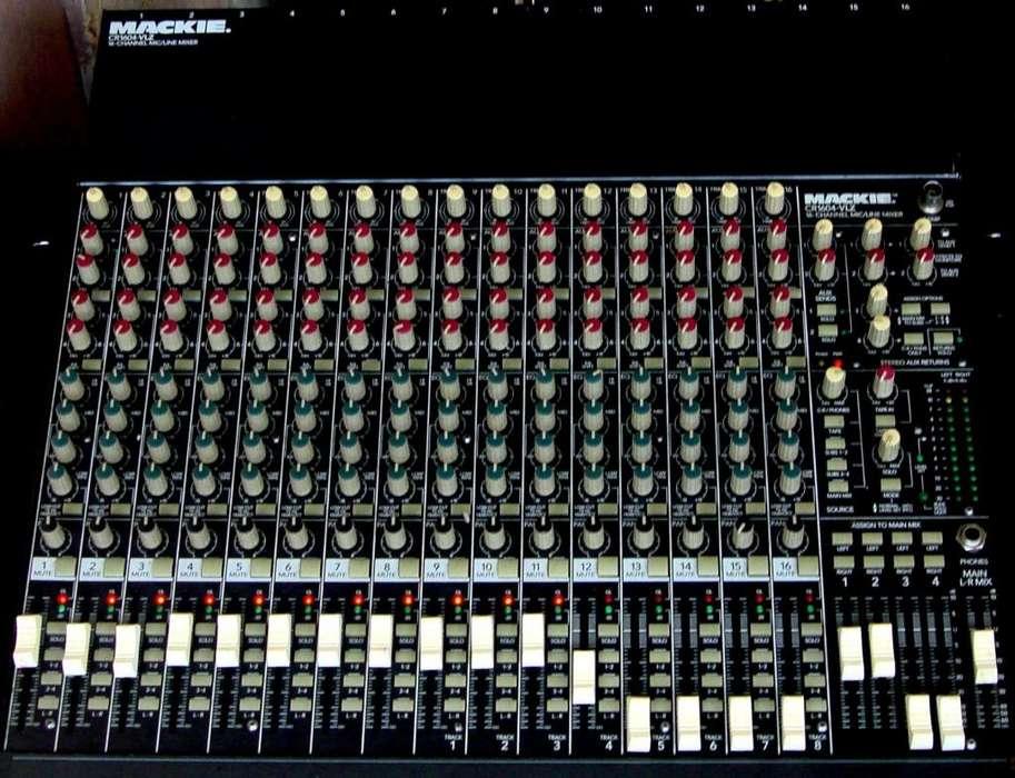 VENDO: Mezclador MACKIE CR 1604 VLZ Stereo