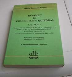 Regimen de Concursos y Quiebras 6 Ed