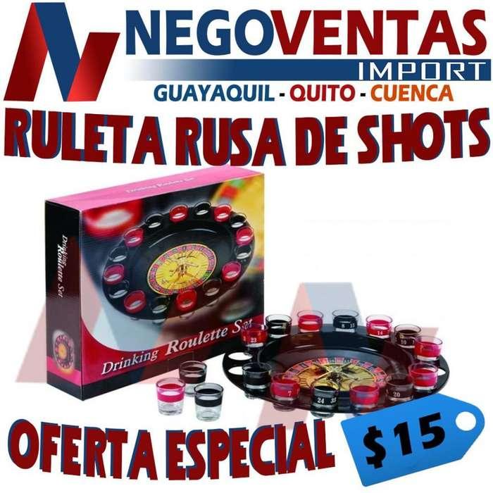 RULETA RUSA DE SHOTS
