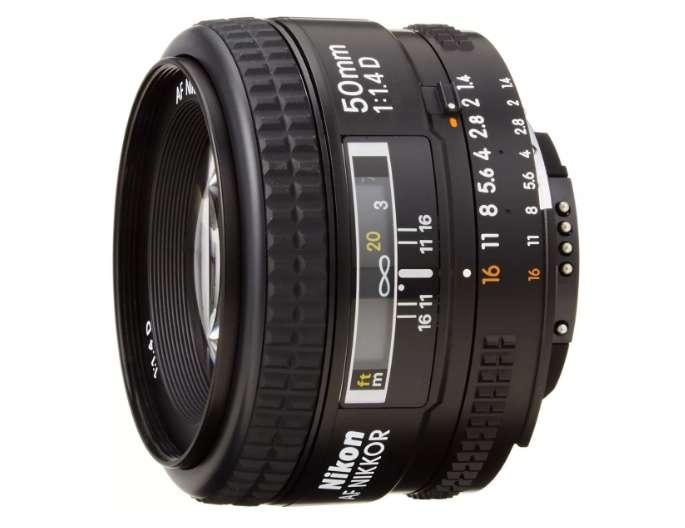 Lente Camara Nikon Af Fx Nikkor 50mm F 1.4d Dslr Auto Fo 827