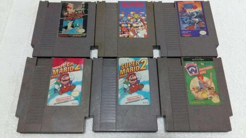 Juegos Nintendo Nes y Zapper