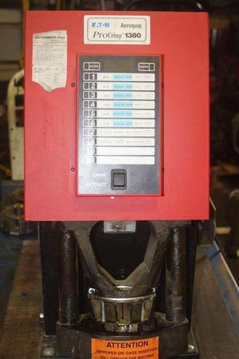 grafadora de manguera Aeroquip ft1380 usada completa gates parker dayco