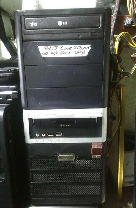 Torre Ddr3 Core2 Quad, 4gb de Ram,