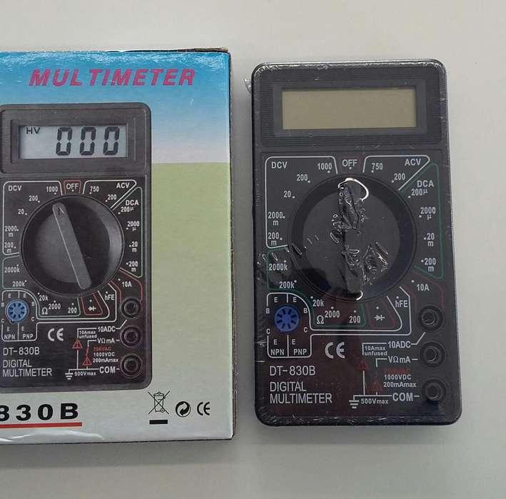 EXC. TESTER DIGITAL ARTICULO NUEVO USO EN ELECTRONICA-AUTOS-MOTOS ETC. INCLUYE BATERIA 9 VOLTS
