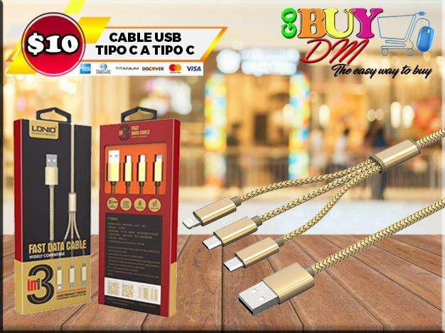 Cable samsung iphone 31 LDNIO LC85