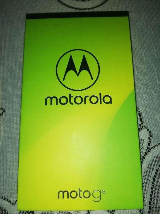 Se Vende Moto G6 Lte Azul 32gb