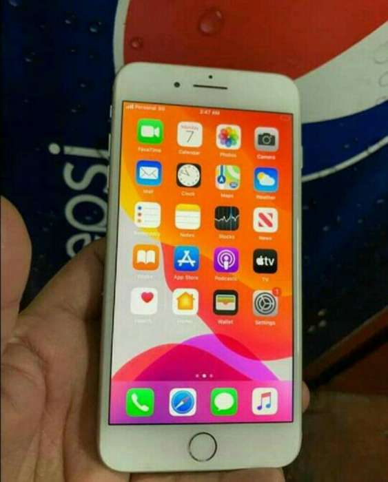 iPhone 7 Plus 32gb Silver Impecable