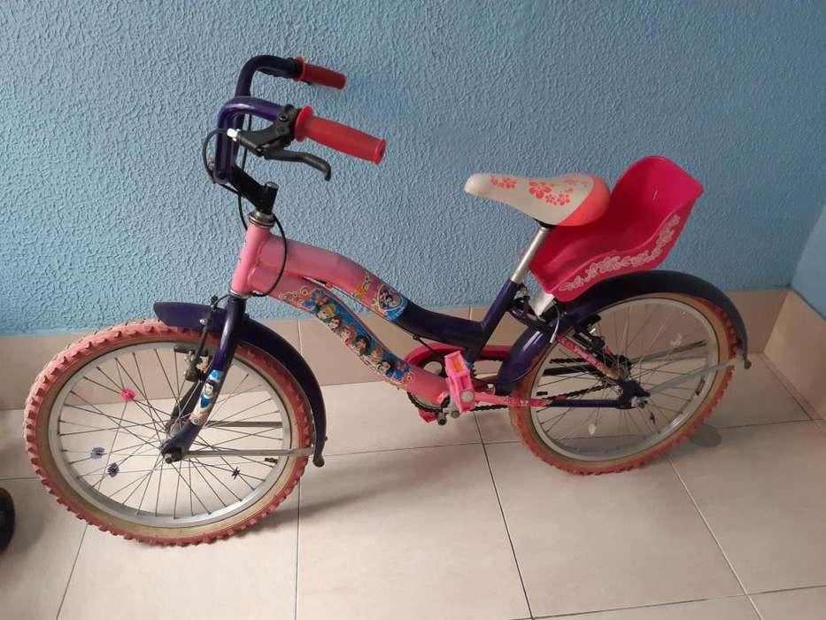 biclicleta niña usada