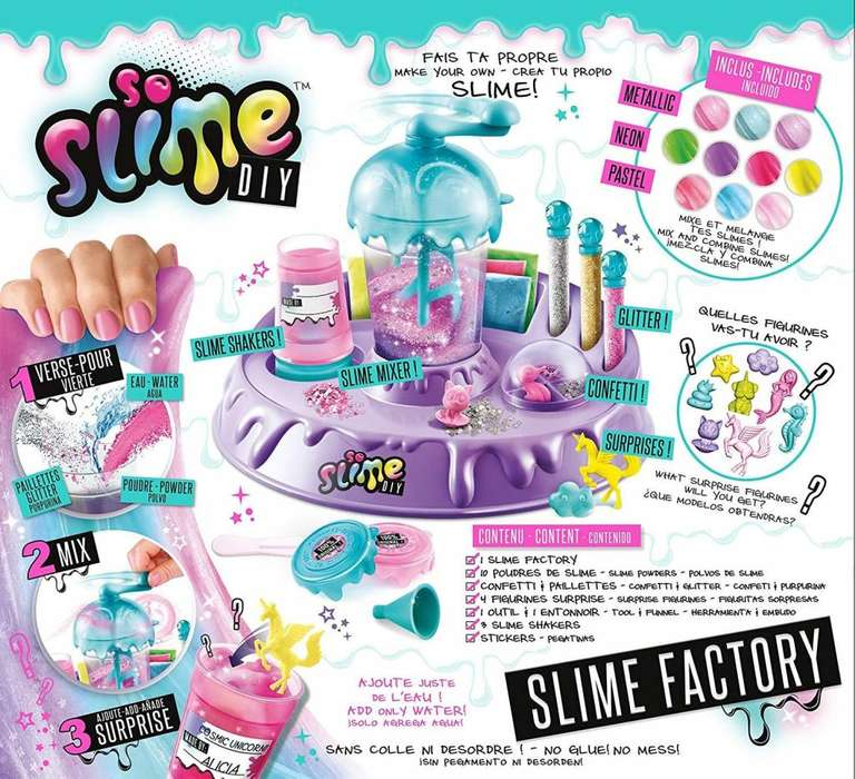 Slime Factory, Maquina para hacer slime