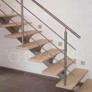 Escalera Caracol de Hierro y Madera