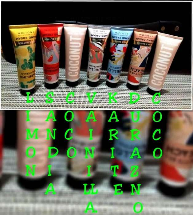 CREMA DE MANOS BATH & BODY