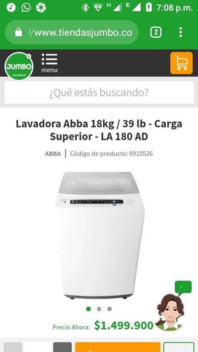 Lavadora ABBA 39 Lbs