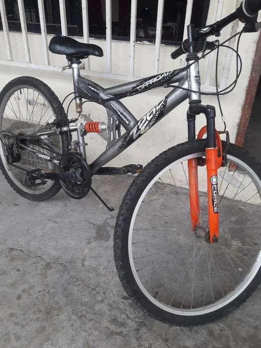 Vendo Bicicleta Aro 26 Doble Suspension