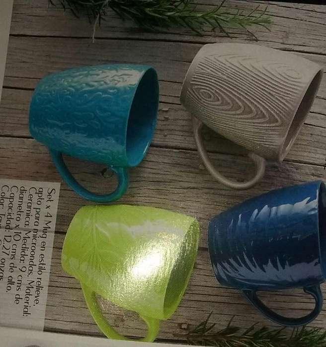set de mug x4
