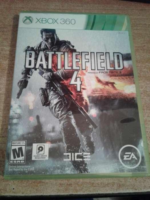 Juego Battlefield 4 para Xbox 360