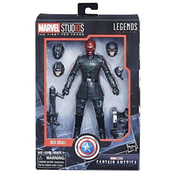 Figura Marvel Legends 10th Aniversario Red Skull