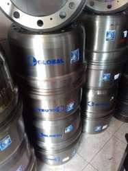 Distribución de tambores de freno y aros