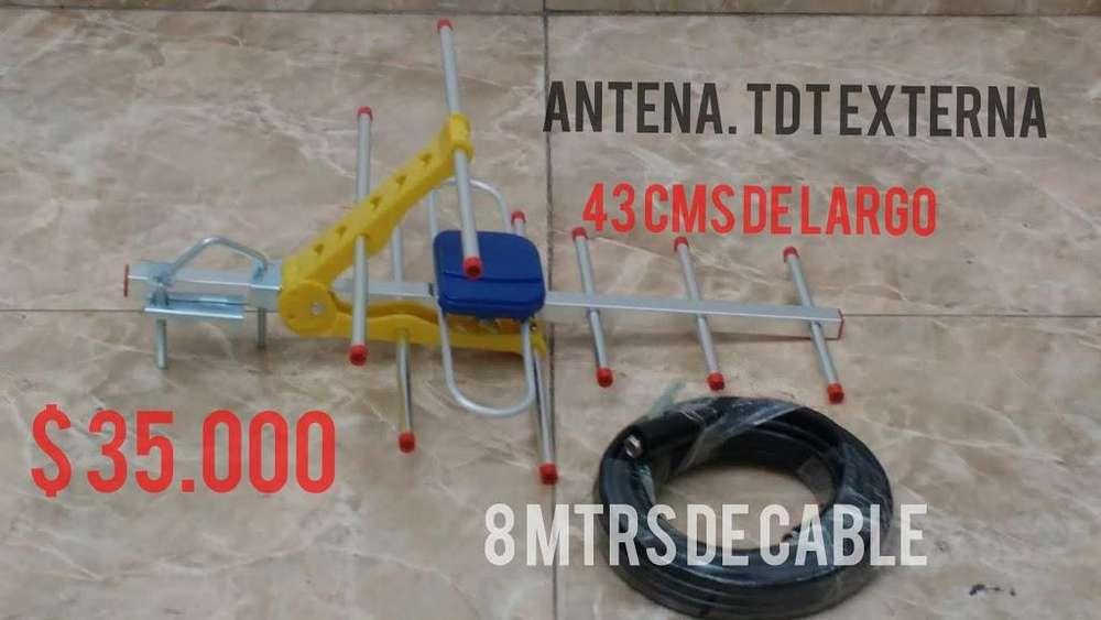ANTENAS TDT EXTERNAS AEREAS HD